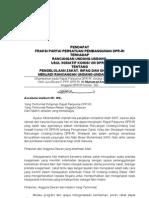Pendapat Fraksi PPP tentang UU Zakat Rapur 31 Agst 2010 Ok