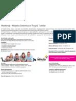 workshop Modelos sistémicos e terapia familiar