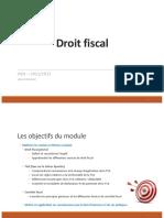 0- Droit Fiscal Support Etudiant
