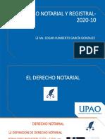Ppt_1. Derecho Notarial. Principios Notariales y Sistemas Notariales.