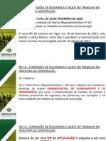 Apresentação NR 18 Visão Geral Jefferson Silva