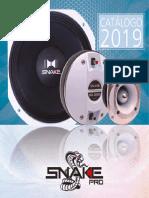 Snake Pro catálogo 2019