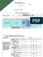 Planificare matematica - Stiinte Sociale (Uman)