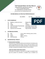 Informe Mensual de Internado Marzo 2021 - Pellegrino