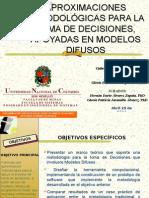 METODOLOGÍAS PARA LA TOMA DE DECISIONES, APOYADAS EN LÓGICA DIFUSA