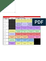 Application Seminar Schedule