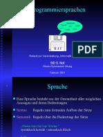 DI-Programmiersprachen