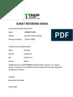 Ahmad Taufik_SURAT REFERENSI