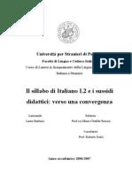 Il sillabo di italiano L2 e i sussidi didattici