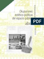 Okupaciones estetico-politicas.