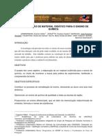 A CONSTRUÇÃO DE MATERIAL DIDÁTICO PARA O ENSINO DE QUÍMICA