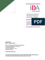 Singapore Internet Version 6 (IPv6) Profile