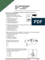 Prediksi Soal UN Biologi 2010 Paket II