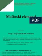 Predavanja 3-Masinski elementi