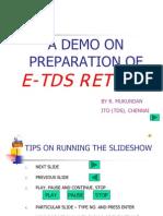 e Tds Voice Demo Slideshow