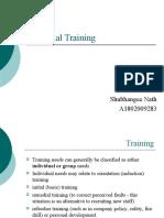 Remedial Training