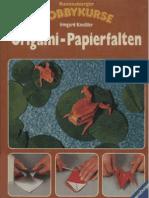 Origami-Papierfalten