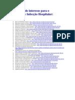 Legislação de interesse para o controle de infecção hospitalar