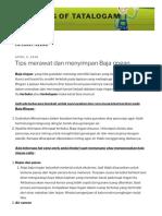 bekasi – Page 2 – Blog of Tatalogam