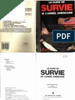 Le Guide de Survie de l_'armée Américaine