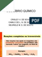 TRABALHO DA QUIMICA III