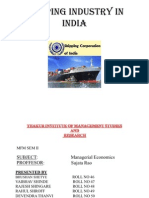 Shipping-Industry-Ppt vaibhav