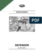 Defender Schema Elettrico MY2016 VIN 456176-