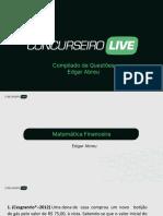 Compilado de Questões - Matemática Financeira - Edgar Abreu (1)