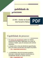 8 - capabilidade de processo - aula