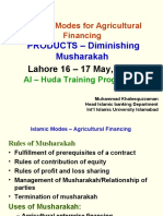 AlHuda Islamic Modes Agricultural Financing By Muhammad Khal