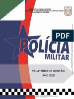 RELATRIO DE GESTO_EXERCCIO 2020
