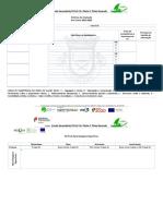modelo Critérios de avaliação