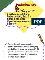 Akta-Akta Pendidikan Khas