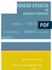 Business+Ethics+in+Indian+Context