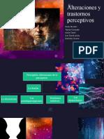 Alteraciones y Trastornos Perceptivos