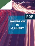 Saving Oil in Hurry