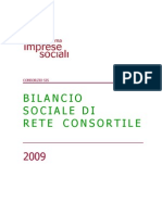 BilancioSociale Consorzio SIS 2009