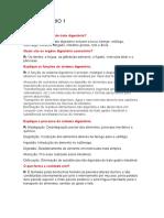 QUESTIONÁRIO 1 - 2 - 3 ANATOMIA
