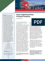 Turkey's Neighborhood Policy