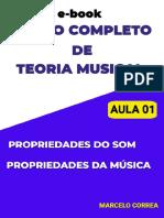 Curso de teoria musical - aula 01