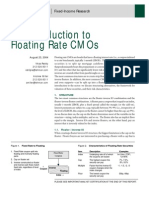 Floating Rate CMOs