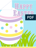 Operation Shower Easter