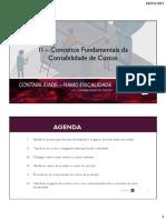 2 - Conceitos Fundamentais da Contabilidade de Custos - CF 2020_21