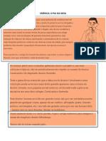 CRÔNICA O PAI DA IDEIA