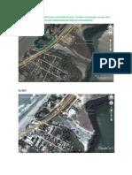 Estudio fotográfico de la afectación de la Boca del Parrao
