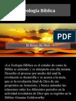 Presentación Teologia Biblica