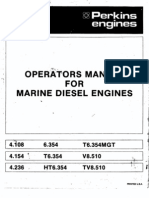 Perkins Operators Manual