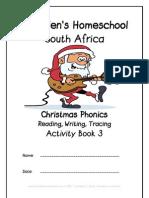 Christmas Phonics Activity Book, Donnette Davis, St Aiden's Homeschool