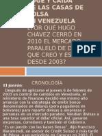 Auge y caída de las casas de Bolsa en Venezuela
