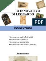 Il Genio Innovativo di Leonardo
